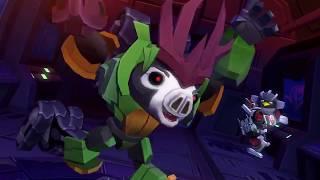Angry Birds Transformers Ep. 4 - THUNDERCRACKER!