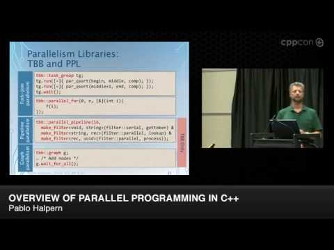 "CppCon 2014: Pablo Halpern ""Overview of Parallel Programming in C++"""