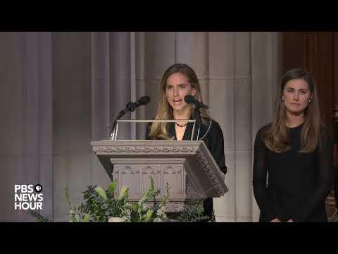 WATCH: Lauren Bush Lauren and Ashley Walker Bush deliver first reading at George H.W. Bush funeral