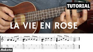 Điệu Slow trên UKULELE và áp dụng La Vie En Rose