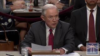Sessions,  'Let me state this clearly'... no improper contact with Russians | Sessions testifies