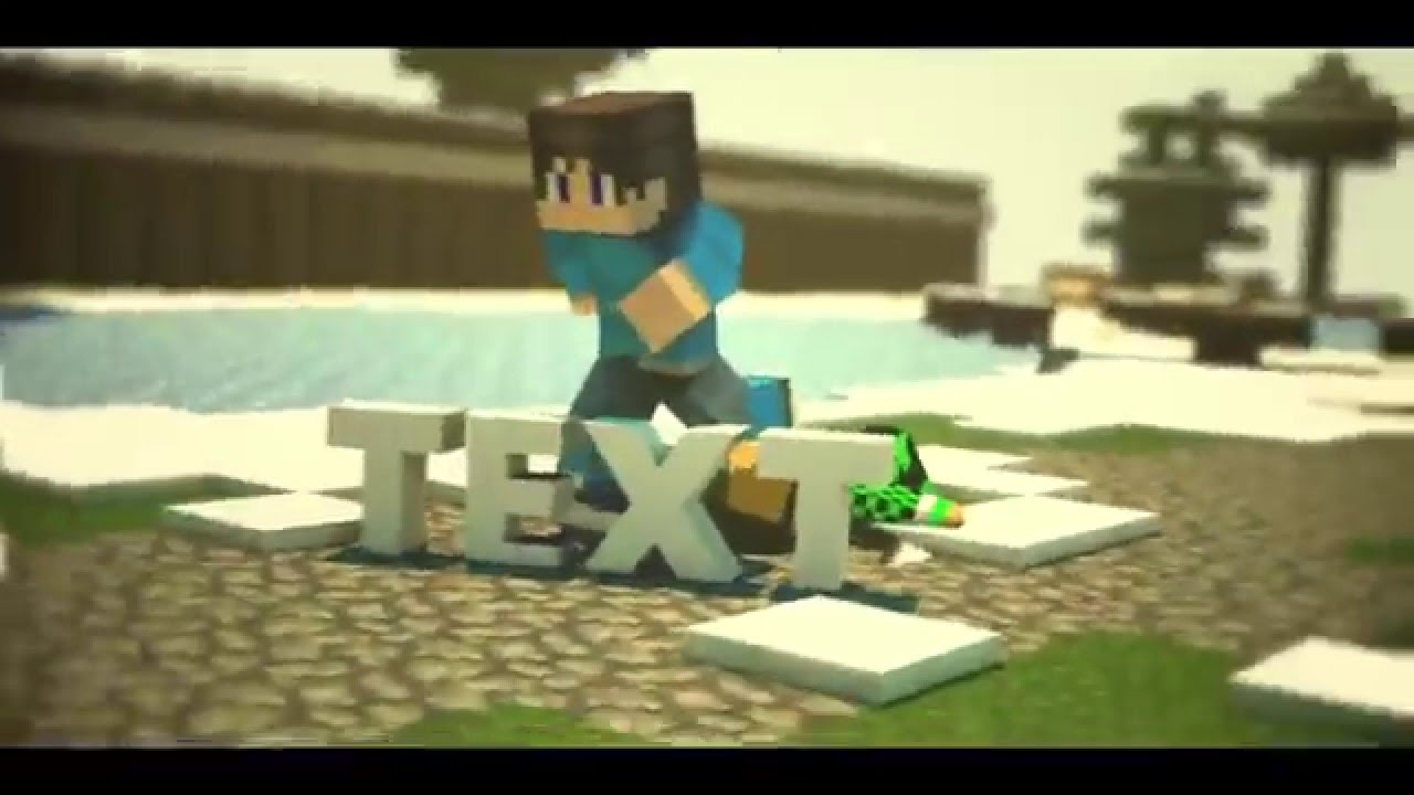 Free Minecraft C4d Sync Template No Kein After Effects