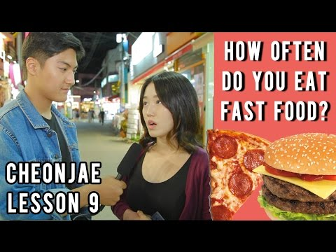 How Often Do You Eat Fast Food?