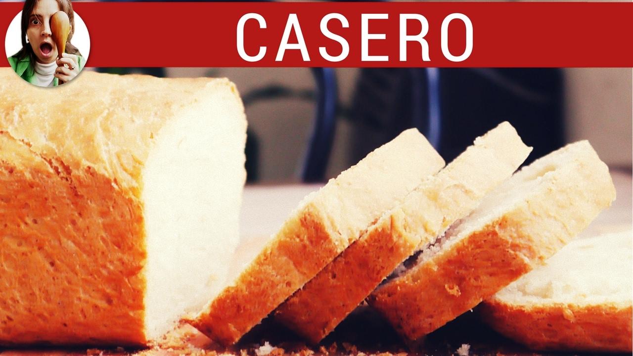 Receta de pan lactal con harina integral y semillas