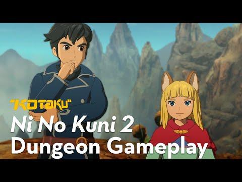 Ni No Kuni 2 - Dungeon Gameplay