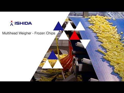 Ishida Europe RV Multihead Weigher. Application: Frozen Chips