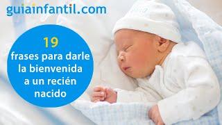 19 Emotivas Frases Para Bebés Recién Nacidos Con Las Que Te Sentirás Identificada Youtube