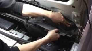 Opel Meriva. Замена салонного фильтра. How to Cabin Air Filter Replacement