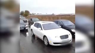 Видео с парадом авто с