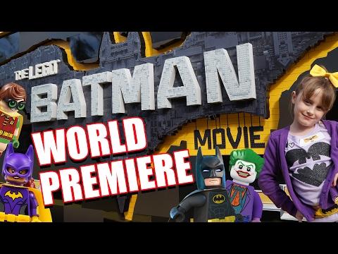 LEGO Batman Movie World Premiere Cast Interviews - Lindalee Rose - Will Arnett