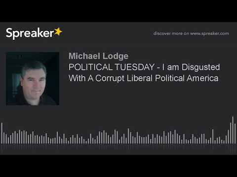 POLITICAL TUESDAY - I am Disgusted With A Corrupt Liberal Political America