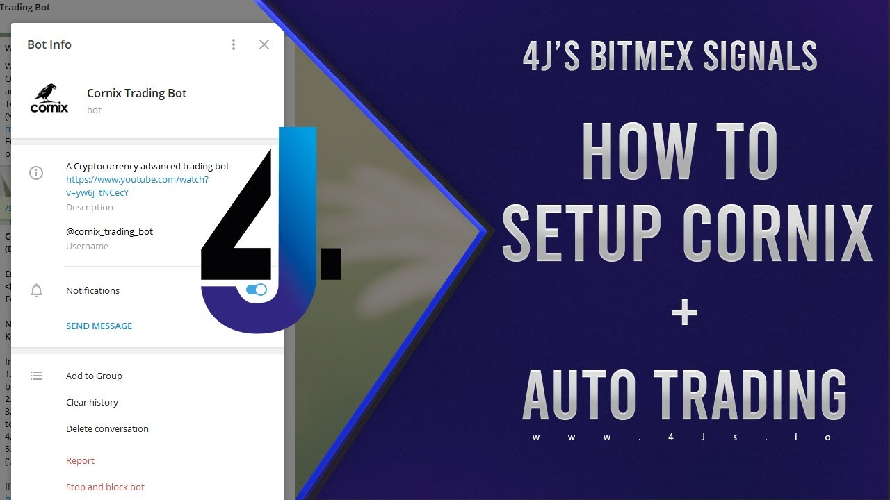 How to setup Cornix with our Bitmex Signals - 4J's