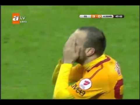 Galatasaray 3-0 Adana Demirspor 10.01.2012
