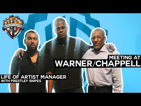 Warner/Chappell Meeting with Roget Romain [Life of Artist Manager] Mp3