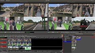 Cinelerra GG Infinity: Oluşturmak Bölünmüş Ekran Video Düzenleme Öğretici Bir Video Klip