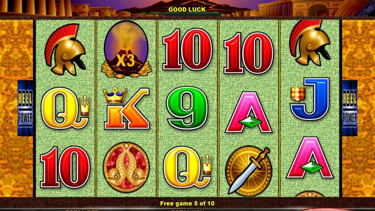 Pompeii Casino Game