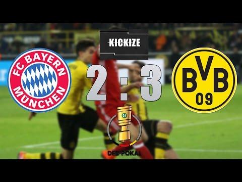 FC Bayern - Borussia Dortmund | DFB-Pokal | Highlights | SkySport | Kickize.de