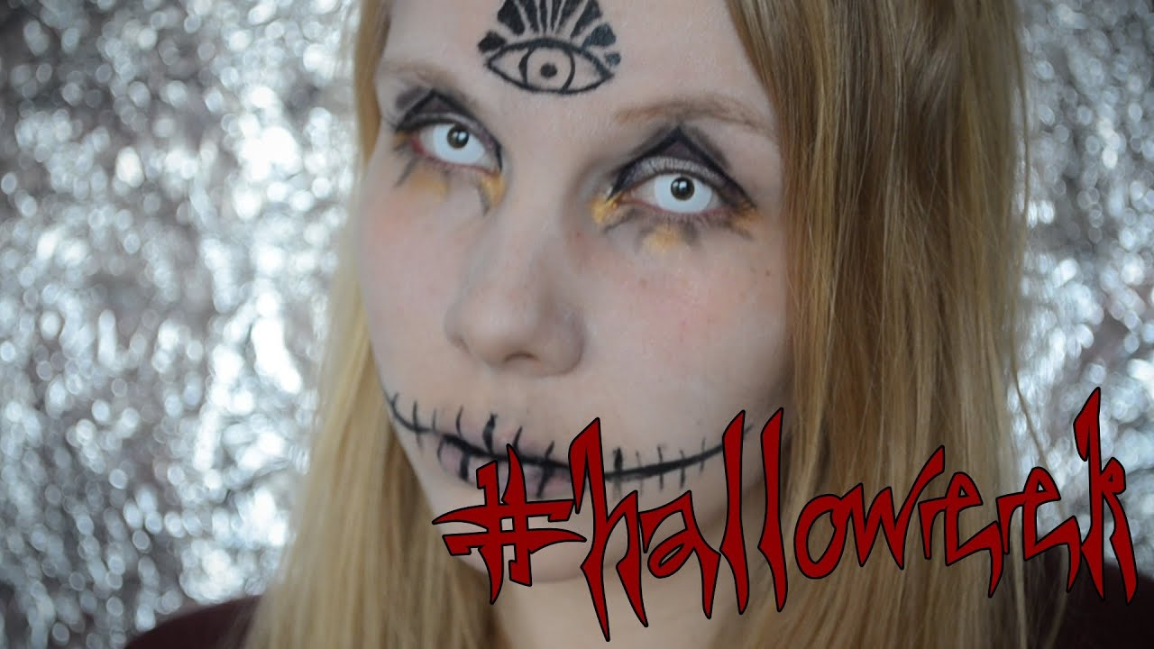 halloweek illuminati hexen make up tutorial youtube. Black Bedroom Furniture Sets. Home Design Ideas