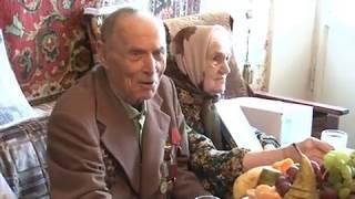 Архив 2010 год.  Ветеран Дудатьев отмечает юбилей