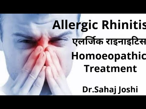 Allergic Rhinitis? Homeopathic Medicine!