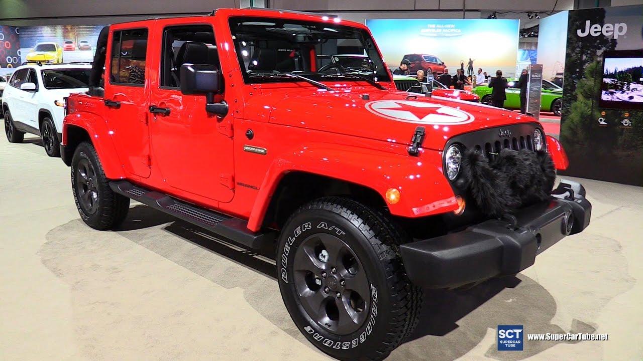 2017 jeep wrangler freedom edition exterior and interior walkaround 2016 la auto show youtube. Black Bedroom Furniture Sets. Home Design Ideas