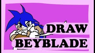Drawings for kids / Beyblade Colouring Book and Drawing