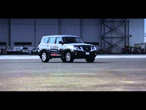 Nissan Patrol breaks Guinnes World Record by pulling cargo plane at Sharjah airport