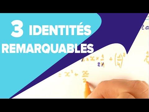 Identités Remarquables 3eme - Mathrix - YouTube