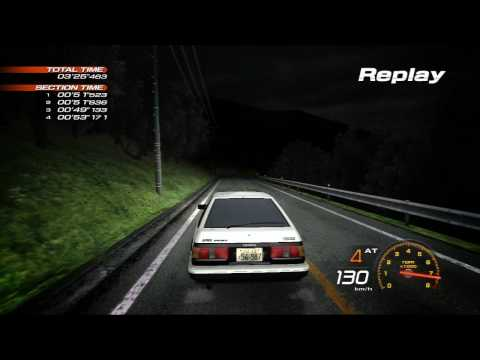 Initial D Extreme Stage PS3 [HD] VS Takumi [Song: Forever Young]