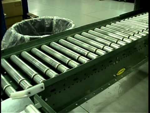 Line Shaft Live Roller Conveyor Model Nspez Hytrol
