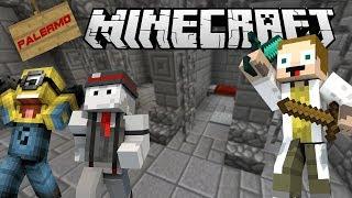 [GEJMR] Minecraft - Zabijáci v Palermo Town! 🗡️😨 s Kelem a Lakotou