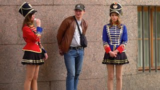 Russian Girls Walking Street In Moscow and Saint Petersburg