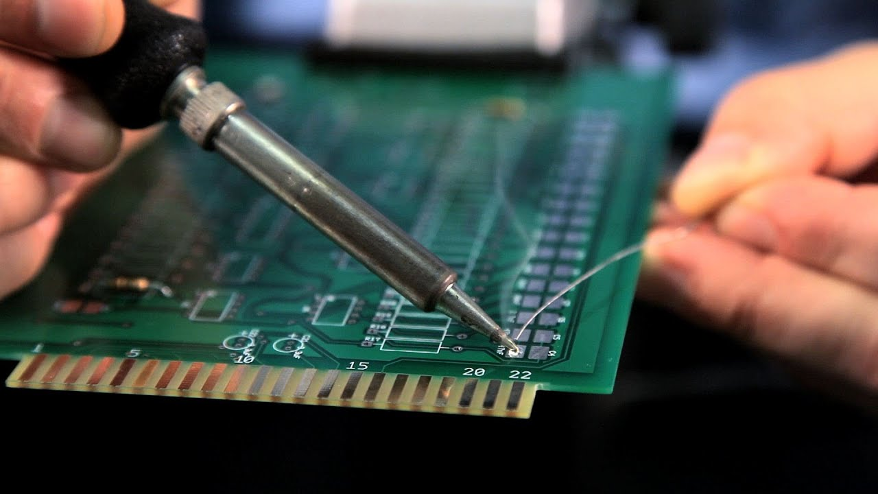 How To Solder Circuit Board