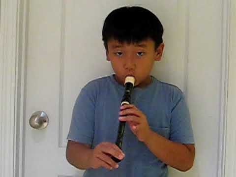 Ode to Joy by Beethoven (Kid playing it on the recorder)