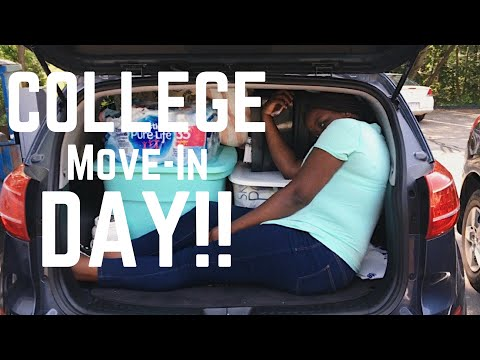 COLLEGE MOVE-IN DAY- Lynnie Chroniclez #2| UniqueHaitian98