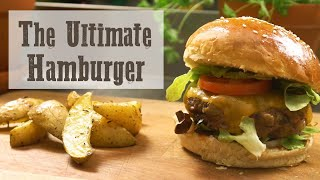 The Ultimate Hamburger Video Tutorial - Buns + Burgers + Potatoes