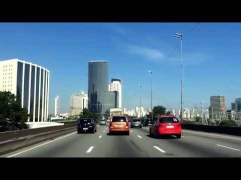 Driving in Sao Paulo,Brazil
