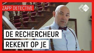 LIVE ONDERZOEK PLAATS DELICT | Zapp Detective | NPO Zapp