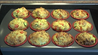 Leichte Küche: Gemüsemuffins