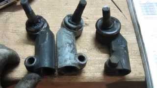 Отличие рулевых наконечников Калины и ВАЗ 2110