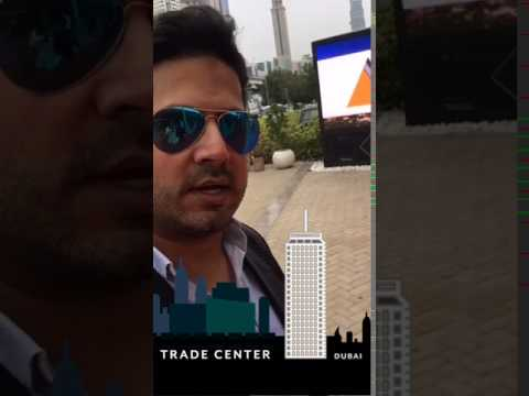 عمر الصعيدي في معرض الكابسات في دبي thumbnail