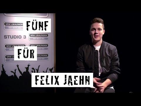 Fünf für Felix Jaehn - das Interview ohne Fragen