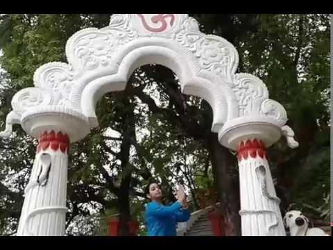 Umananda Temple on Brahmaputra River Island in Guwahati (Assam)