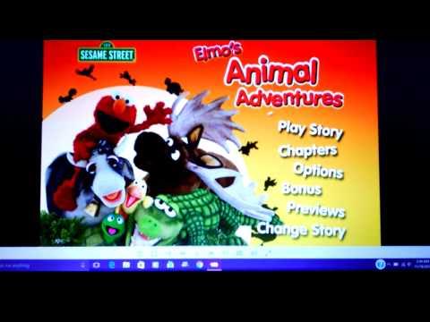 SESAME STREET 3-in-1 Triple Feature- Elmo's Learning Adventures