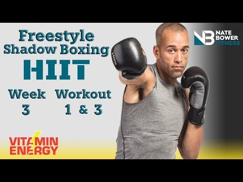 FREESTYLE SHADOW BOXING HIIT Workout. 4 Week Shred