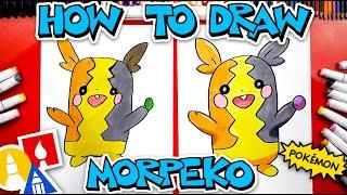 How To Draw Morpeko Pokemon