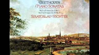 Beethoven / Richter, 1976: Sonata No.  7 in D, Op. 10, No. 3 - Complete