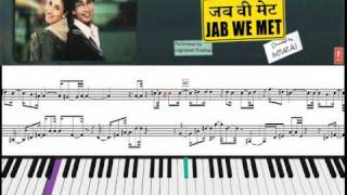 Tum se hi (Jab we met ) Piano cover