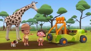 Leo The Wildlife Ranger Minisode #155 - Rothschild's Giraffe