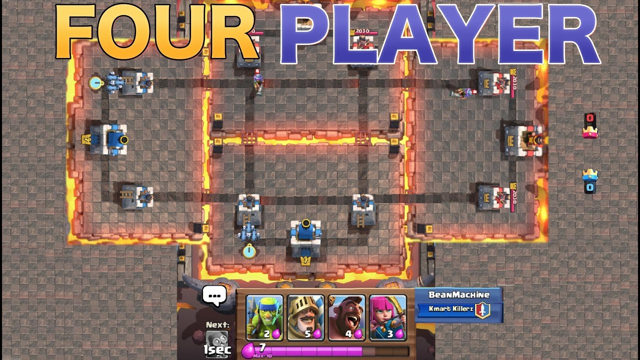 Clash Royale New 4 Player Gamemode Confirmed Quot New Arena